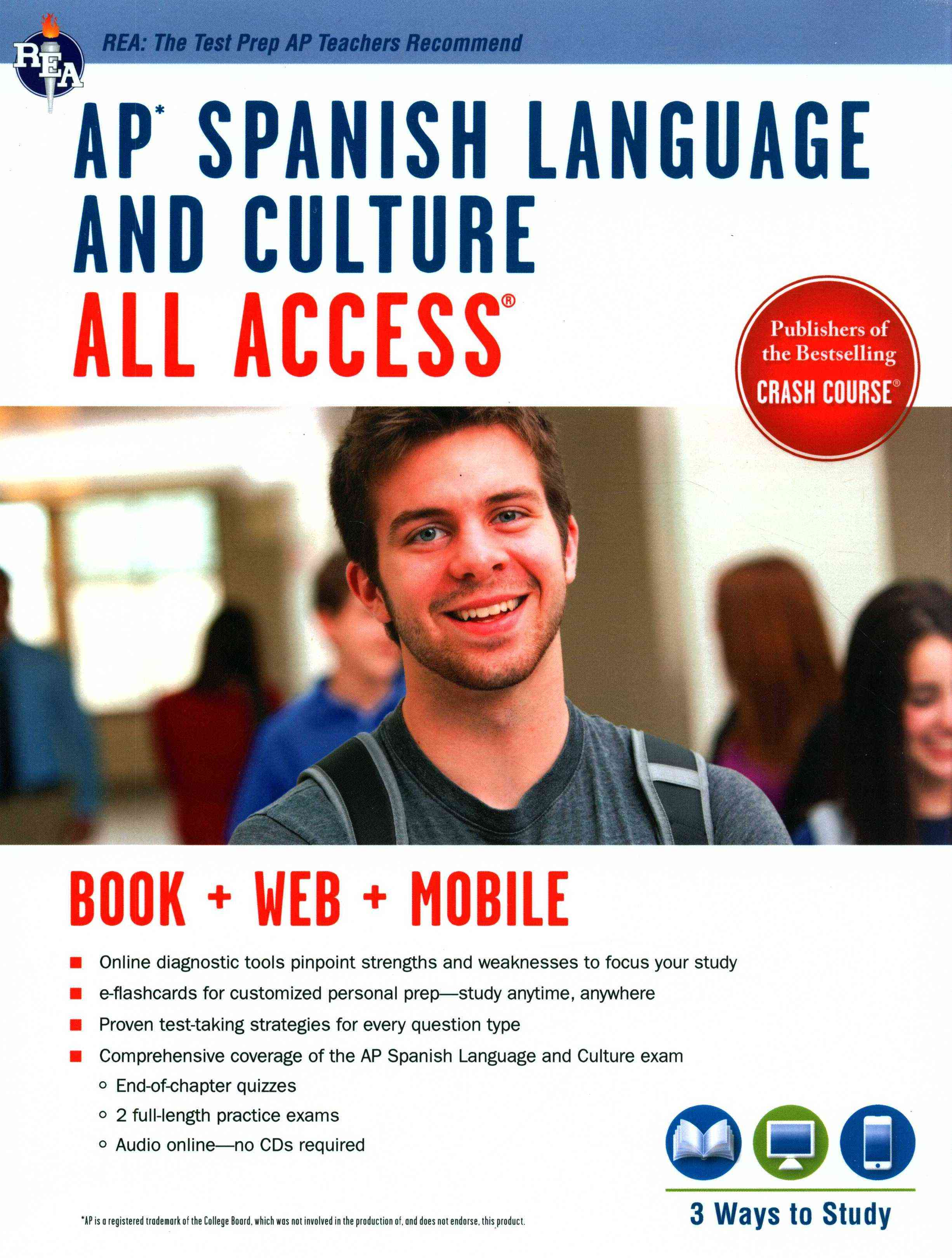 Rea Ap Spanish Language and Culture All Access By Research and Education Association